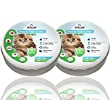 Aphelion Flea & Tick Collar Prevention for Cats | 6 Month Continuous Protection Against Fleas, Ticks, Larvae, Lice, and Mosquitoes