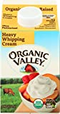 ORGANIC VALLEY: Heavy Whipping Cream, 16 oz