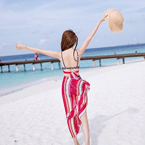 siamois Style Beach Ventre De Poitrine Bain Dames National Rassemblent Petite Maillot Étudiant Conservateur Couverture Se Spa Pour Mince Maillots Rose Icngls tqZwBXq