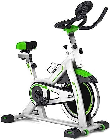 Hnks - Bicicleta estática de spinning para interior, para ciclismo, ejercicios, entrenamiento cardiovascular, con pantalla LCD, para entrenar en casa, para dar forma al cuerpo: Amazon.es: Hogar