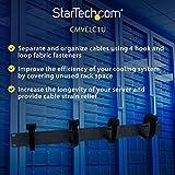 StarTech.com 1U Horizontal Cable Management - TAA