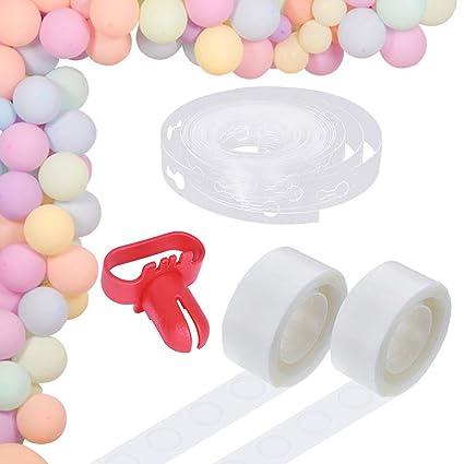 Amazon.com: Kit de tiras de globo para decoración de arco ...