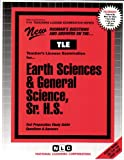 Earth Science and General Science, Sr. H. S., Rudman, Jack, 0837380146