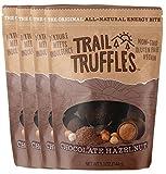 Trail Truffles – Paleo Plant Based Vegan Energy Bite Balls – Chocolate Hazelnut, 4 packs Review