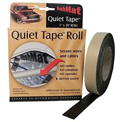 HushMat 30300 Quiet Tape Shop Roll, 1-Inch x 20-Foot: Automotive