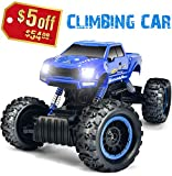 #10: RC Car with Dual Motors 4WD 2.4Ghz 1:12 Crawlers Off Road Vehicle Toy Remote Control Car Blue Color