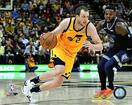 611703d2d Image Unavailable. Image not available for. Color  Joe Ingles Utah Jazz  2018-2019 ...