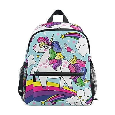 7f7159918f 60%OFF ALAZA Rainbow Unicorn Kids Preschool Backpacks School Bag Daypack  for Boys Girls