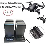 Battery Manager For DJI Mavic Air Drone Parts,Smart Charger Battery Manager Batteries Charging For DJI Mavic Air Drone Parts (black)