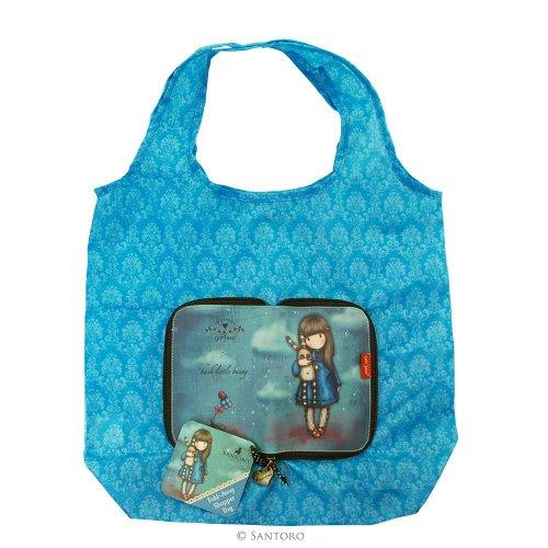 Gorjuss - Hush Little Bunny Folding Shopper Bag