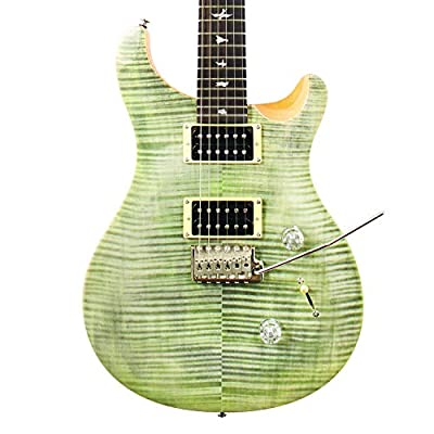 Paul Reed Smith Guitars PRS Exclusive Limited Edition SE Custom 24 Electric Guitar, Trampas Green by Paul Reed Smith Guitars