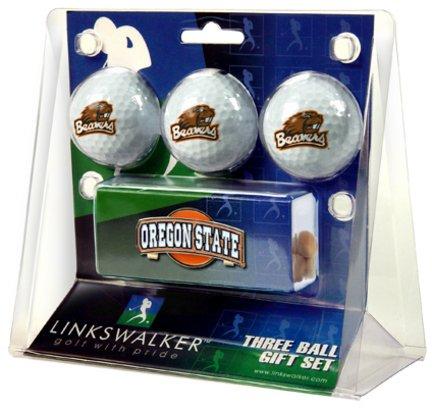 Oregon State Beavers Slider Hat Clip & 3 Ball Gift Set LWSLDGFT