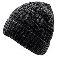 Loritta hombre invierno cálido tejer sombreros de lana holgada Slouchy Beanie Hat Skull Cap