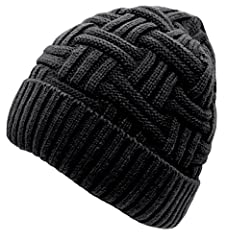 Loritta Mens Winter Warm Knitting Hats Wool Oversized Baggy Slouchy Beanie Hat Skull CapAbout the product - Color: As showned. Photos are taken under bright sunlight, colors may look darker indoors. - Criss-cross basket weave knit style. - Ma...