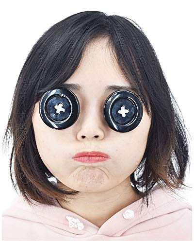 C-ZOFEK Coraline Cosplay Props Button Eyewear Glasses for