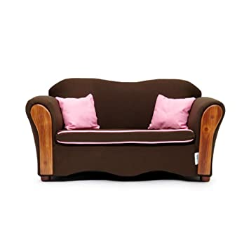 KEET Homey VIP Organic Kids Sofa, Sweet/Brown