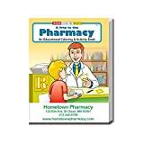 A Trip to The Pharmacy Kid's Coloring & Activity Books in Bulk (Quantity of 250) - Customize with Your Information - Pharmacy Promotional Item