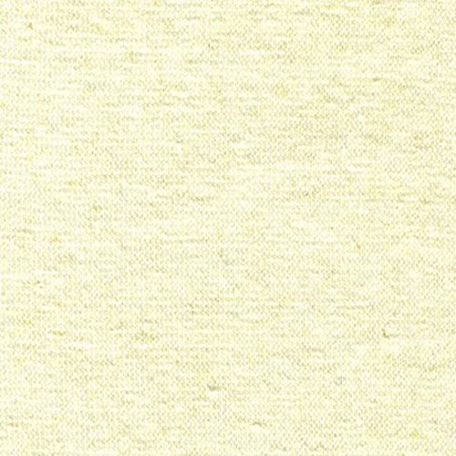 (53% Hemp / 42% Organic Cotton / 5% Spandex Rib Knit Fabric - Natural - By the)