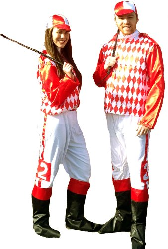 Jockey Costume Adult Std -