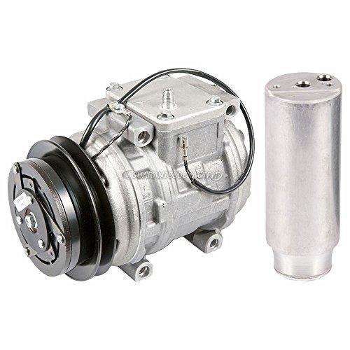 (OEM AC Compressor w/A/C Drier For Porsche 911 993 1993-1998 - BuyAutoParts 60-85483R4 New)