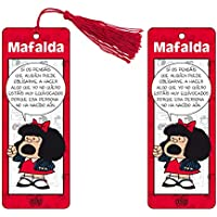 Marcapaginas 3D Mafalda (color rojo)