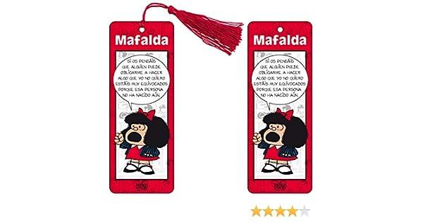 Marcapaginas 3D Mafalda (color rojo): Amazon.es: Vv.Aa, Vv.Aa: Libros