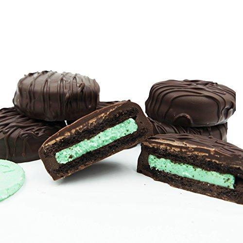 Chocolate Creme Mint (Philadelphia Candies Dark Chocolate Covered Mint Creme OREO Cookies, 15 Ounce)