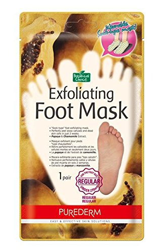 Purederm Exfoliating Foot Mask - Peels Away Calluses and Dead Skin in 2 Weeks! (3 Pack (3 Treatments), Regular) by Purederm (Image #3)