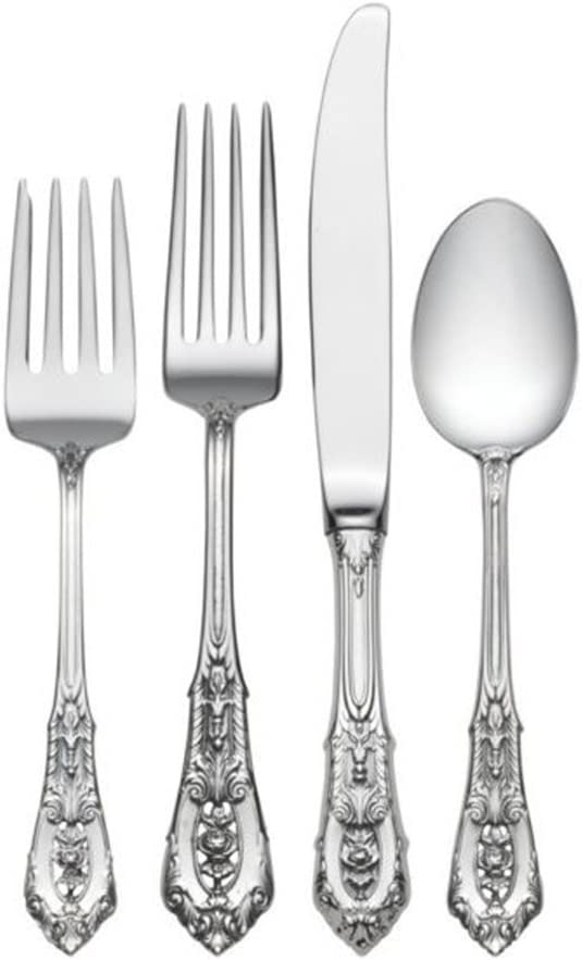 Wallace Rose Point 4-Piece Place Setting (Place Size)