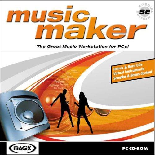 Music Maker SE (Jewel Case) Magix Entertainment 639191012037 Digital Music Software