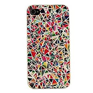 DD iPhone 4/4S/iPhone 4 compatible Geometric Pattern Back Cover
