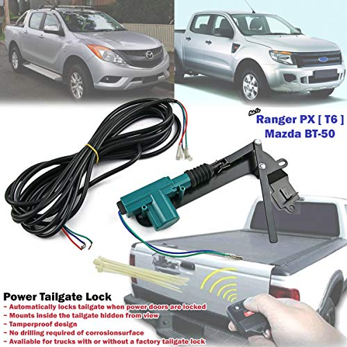 Automatic Power Tailgate Security Lock For Ford Ranger T6 Mazda BT-50 2012-ON ()