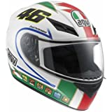 AGV K3 The Donkey Full Face Motorcycle Helmet (Multicolor, Medium)