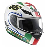 AGV K3 Rossi Icon Motorcycle Helmets - Large