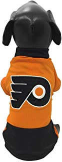 product image for All Star Dogs NHL Philadelphia Flyers Athletic Mesh Dog Jersey, Medium, Orange