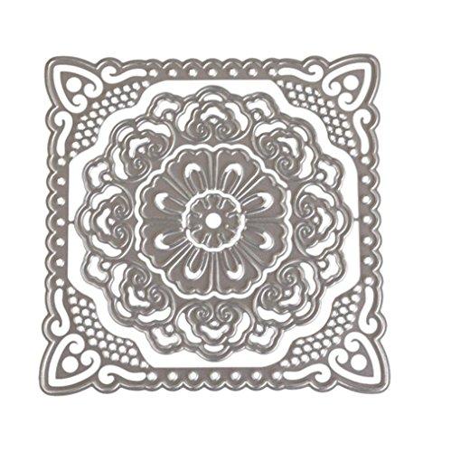 Embossing Silver Pebbles - Flower Die Cut,iHPH7 Hearts Metal Cutting Dies Stencils DIY Scrapbooking Album Paper Card Making 673