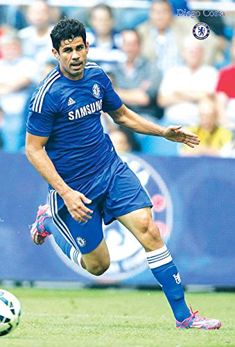 Dieco Costa CHELSEA F.C. 2015 Football Soccer Wall Decoration Poster (#001)