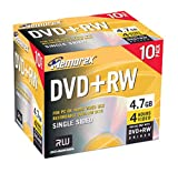 Memorex 4.7GB DVD+RW Media (10-Pack)