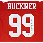 9a14b82a6 San Francisco 49ers DeForest Buckner Autographed Signed Red Jersey -  Beckett... Sports Collectibles Online
