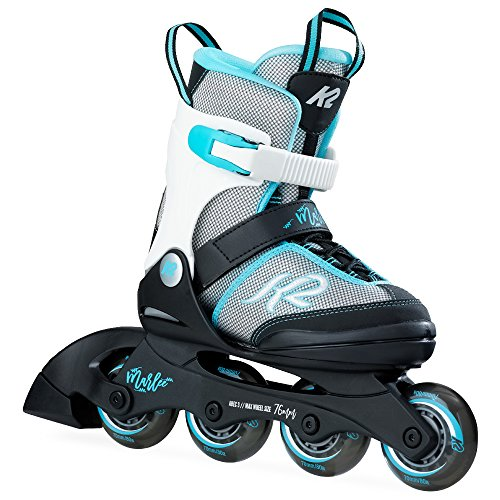 K2 Skate Marlee Inline Skates, Silver/Blue, 11-2