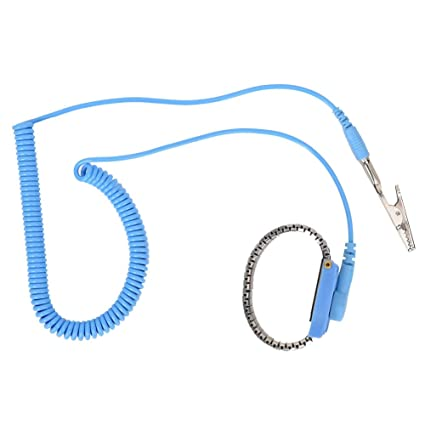 Hand & Power Tool Accessories Efficient New Adjustable Anti Static Bracelet Electrostatic Esd Discharge Cable Reusable Wrist Band Strap Hand With Grounding Wire