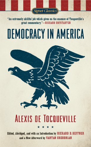 Democracy in America cover