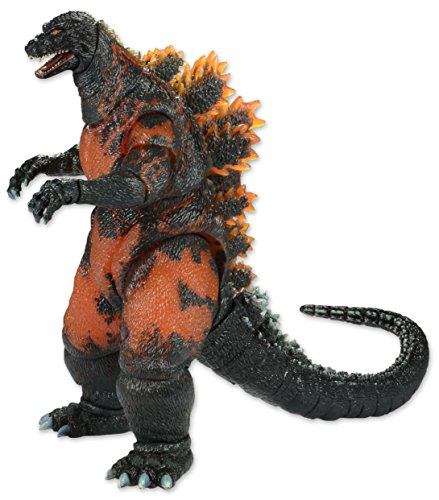 NECA Classic 1995 Burning Godzilla Head to Tail Action Figure, 12