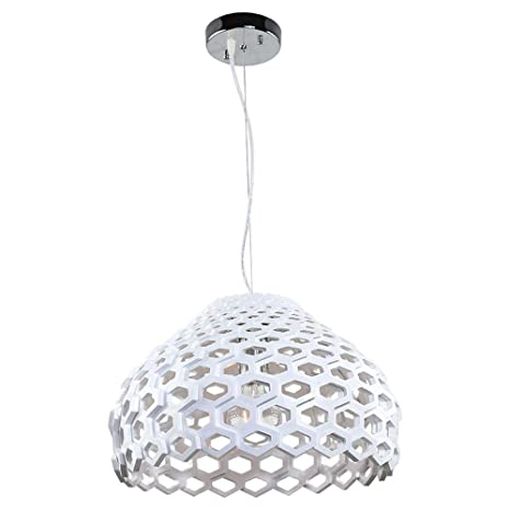 Modern Acrylic Molecule Honeycomb Dining Room Ceiling Pendant Light