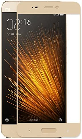 GerTong Xiaomi Mi5 - Protector de pantalla para Xiaomi 5 (cristal templado antiarañazos, pantalla táctil de 5,15 pulgadas, protector de pantalla), color dorado: Amazon.es: Electrónica