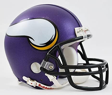 Minnesota Vikings Replica Mini Helmet w/ Z2B Face Mask
