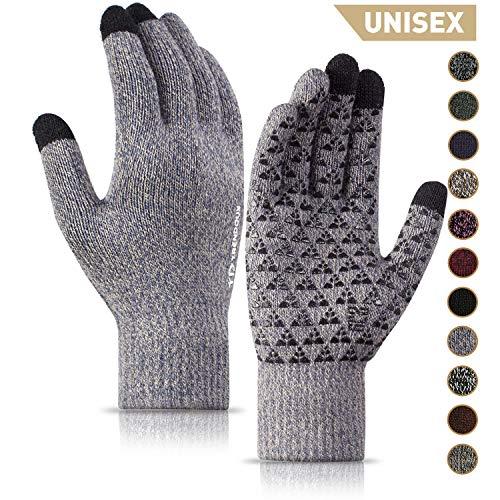 TRENDOUX Winter Gloves, Knit War...