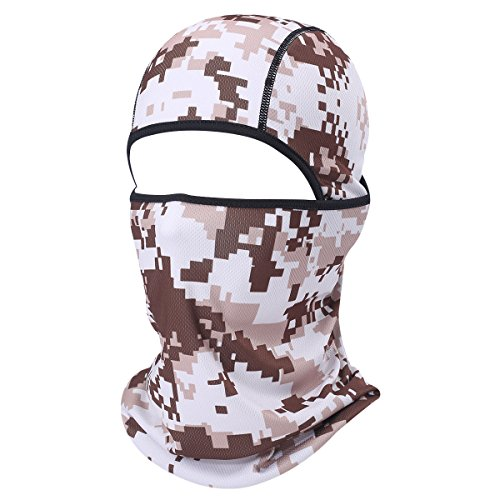 Earnest Unisex Winter Thermal Polar Fleece Scarf Face Mask Neck Warmer Hat Apparel Accessories