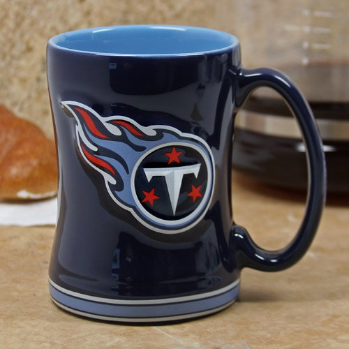 Tennessee Titans Sculpted Coffee Mug (Ceramic Nfl Titans Tennessee)