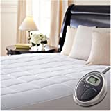 Amazon Com Sunbeam Twin Xl Heated Mattress Pad Home